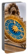 Palace Of Versaille Exterior Clock Portable Battery Charger