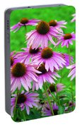 Pale Purple Coneflowers Portable Battery Charger