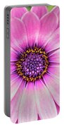 Pale Purple Flower Portable Battery Charger