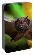 Pale Spear-nosed Bat In The Amazon Jungle Portable Battery Charger