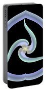 Pale Swirl Portable Battery Charger