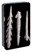 Paleolithic Harpoons Portable Battery Charger