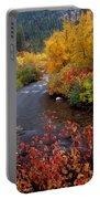 Palisades Creek Canyon Autumn Portable Battery Charger