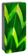 Palm Abstract Portable Battery Charger