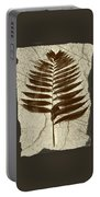 Palm Fossil Sandstone  Portable Battery Charger