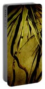 Palm Fronds Are Green Portable Battery Charger