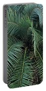 Palm Fronds Portable Battery Charger