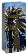 Palm Mural Portable Battery Charger