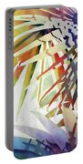 Palm Patterns 2 Portable Battery Charger