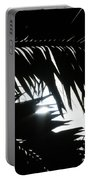Palm Silhouettes Kaanapali Portable Battery Charger