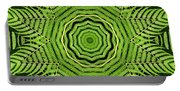 Palm Tree Kaleidoscope Abstract Portable Battery Charger