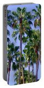Palm Trees. California, Sunny Beauty Portable Battery Charger