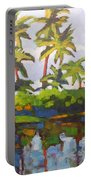 Palms Reflections Portable Battery Charger