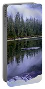 Pamelia Lake Reflection Portable Battery Charger