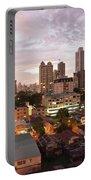 Panama City At Night Portable Battery Charger