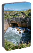Pancake Rocks New Zealand Portable Battery Charger
