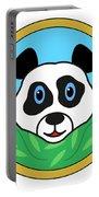Panda Bear Head Portable Battery Charger