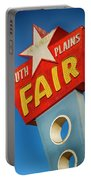 Panhandle South Plains Fair Sign Portable Battery Charger