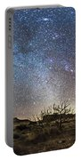 Panorama Of Milky Way And Zodiacal Portable Battery Charger