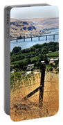 Panoramic Columbia River  Portable Battery Charger