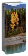 Panoramic Northern River Portable Battery Charger