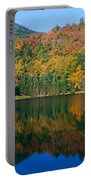 Panoramic View Of Crawford Notch State Portable Battery Charger