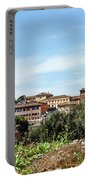 Panoramic View Of Rome Portable Battery Charger