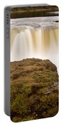 Panoramic Waterfall Manitoba Portable Battery Charger