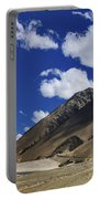 Panrama Of Mountains Ladakh Jammu And Kashmir India Portable Battery Charger
