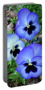 Pansies 0823 Portable Battery Charger