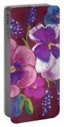 Pansy Grandeur Portable Battery Charger