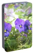 Pansy Impressions Portable Battery Charger