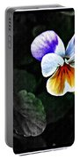 Pansy Statement Portable Battery Charger
