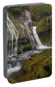 Panther Creek Falls In Autumn Portable Battery Charger