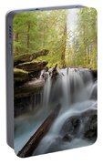 Panther Creek In Gifford Pinchot National Forest Portable Battery Charger