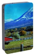 Paonia Mountain And Barn Portable Battery Charger