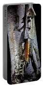 Paper Birch Portable Battery Charger