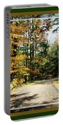 Paper Mill Trail, Framed Portable Battery Charger