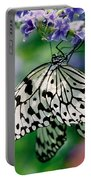 Paper Rice Butterfly Portable Battery Charger