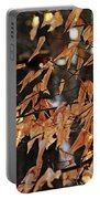 Papery Beech Leaves Portable Battery Charger