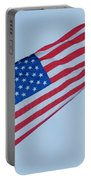 Parachute And Flag Portable Battery Charger