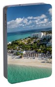 Paradise - Isla Mujeres - Playa Norte, Aerial Image Portable Battery Charger