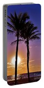 Paradise Palms Portable Battery Charger