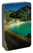 Paraggi Bay Beach And Portofino Park Portable Battery Charger