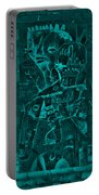 Paramount Turquoise Portable Battery Charger