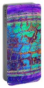 Parched Earth Abstract Portable Battery Charger