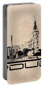 Pardubice Skyline City Portable Battery Charger