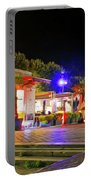 Paris At Night 13 Art Portable Battery Charger