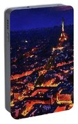 Paris City View Portable Battery Charger
