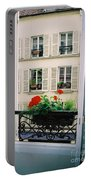 Paris Day Windowbox Portable Battery Charger